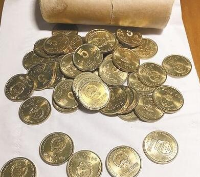 陪伴90后成长的5角硬币身价大涨